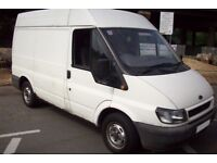 Ford transit t260 swb high top roof 2004 04 reg low mileage p/x