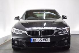 BMW 4 SERIES 2.0 420D M SPORT GRAN COUPE [PRO NAV/19 (black) 2015