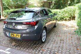 2016 Vauxhall Astra GREY 1.0L T SRi Nav ecoFLEX 5dr
