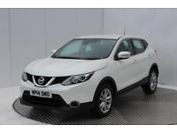 Nissan Qashqai DCI ACENTA SMART VISION (white) 2014-05-28