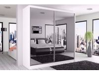 2 DOOR SLIDING WARDROBE AVAILABLE IN DIFFERENT SIZES AND PRICES