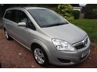 !!!! 2009 VAUXHALL ZAFIRA 1.6 PETROL SEVEN SEATER ONE FORMER KEEPER 42,000 MILES !!!!