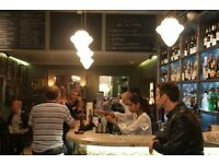 great little Tapas Bar, award winning food and drinks, requires Bar Person / Waiter