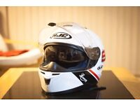 HJC Helmet IS-17 Lorenso 99 white - Size M