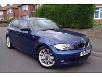 2008 BMW 1Series MSPORT Full Service History FULLY LOADED Fantastic Condition 1YR MOT £2650 BARGAIN!
