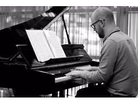 Piano lessons available with local session musician