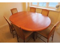 Extendable Dining Table & Chairs (seats 4-8)