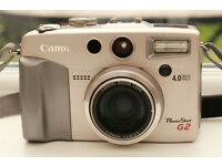 CANON POWERSHOT G2 4 MP COMPACT CAMERA