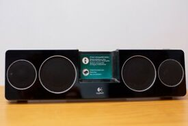 logitech iPod dock speakers - with 3.5mm aux in