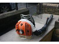 Petrol backpack blower STIHL BR600
