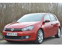 2009 (59) VW GOLF GT TDI - 2 KEEPERS FSH - HEATED LEATHERS STUNNING SPEC + CONDITION.