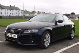 Audi A4 2.0 TDI e SE 4 Door. 2010. Diesel. Manual. Superb Condition. Price Reduced.