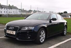 Audi A4 2.0 TDI e SE 4 Door. 2010. Diesel. Manual. Superb Condition. Price Reduced.