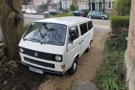 Volkswagon T25 Hard top Camper. 1.6 Turbo Diesel. SORN.