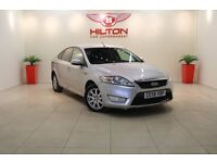 Ford Mondeo 1.8 TDCi Zetec 5dr (6 speed) (silver) 2008