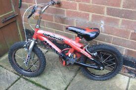 "Children's bike 14"" wheels"