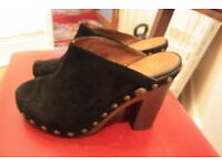 Chanel Mules, bought for £800. On sale for £150