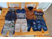 Boy clothes 3-6 mths