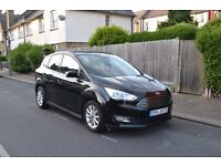 LHD 2016 FORD C MAX 1.0 PETROL TITANIUM X LEFT HAND DRIVE , AVAILABLE IN LONDON