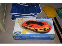 Inflatable Dinghy Intex the wet set Explorer