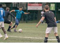 Social 8 a side football games in Islington every Thursday night