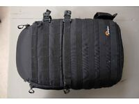 Lowepro ProTactic 450 AW well used pro backpack (Fits 2 gripped DSLR's)