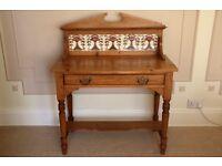 Victorian Antique Pine Wash Stand