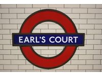 1 BED FLAT EARLS COURT ROAD EARLS COURT SW5