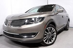 2016 LINCOLN MKX ULTRA GPS AWD 4X4 TOIT OUVRANT VOLANT CHAUFFANT