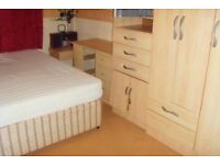 DOUBLE ROOM £300 PER MONTH INCLUDING ALL BILLS (SHORT TERM ONLY)