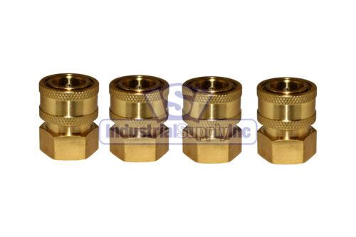 "Pressure Washer | Quick Connect Socket | 3/8"" Female NPT | Brass"