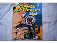 Vintage Astounding Stories Comic by Alan Class No.65 1 Shilling 1 Owner Near Mint!