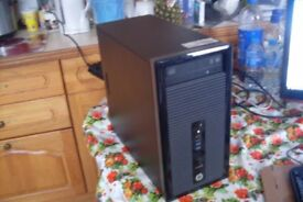 HP ProDesk A4-5000 1.5GHz Quad Core 8GB RAM 500GB Windows 10 Pro Radeon Graphics Gaming ?