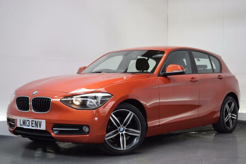 bmw 1 series 1 6 114d sport 5d 94 bhp orange 2013 in hilton derbyshire gumtree. Black Bedroom Furniture Sets. Home Design Ideas