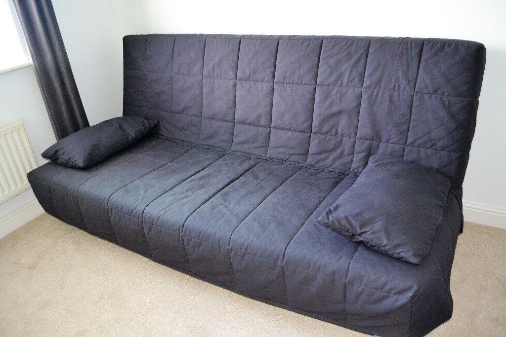 Double Sofa Bed Storage Box Ikea Beddinge Lovas