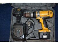 Dewalt 12 v 2.0ah cordless drill 3 speed