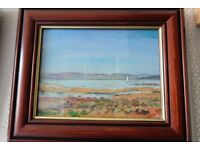 Nautical Landscape oil painting by listed artist Ronald A.H. Craig RSW