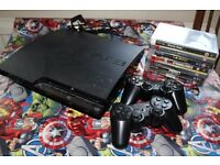 PS 3 + 2 controllers + 7 games