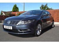 vw passat 2014 new model cc 2.0 140bhp bluemotion (£30 yearly tax)