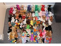 102 PERFECT TY BEANIE BABIES - MINT CONDITION WITH TAGS - RARE/TAG ERRORS - CHRISTMAS TREAT!