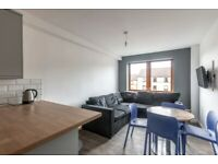 Recently refurbished, 5 bedroom, top floor flat near Fountainbridge, with TV & WiFi – available NOW