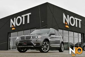2016 BMW X3 xDrive28i Navi, AWD, LOADED!