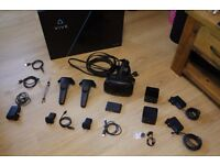 HTC Vive – boxed, fully complete, mint condition
