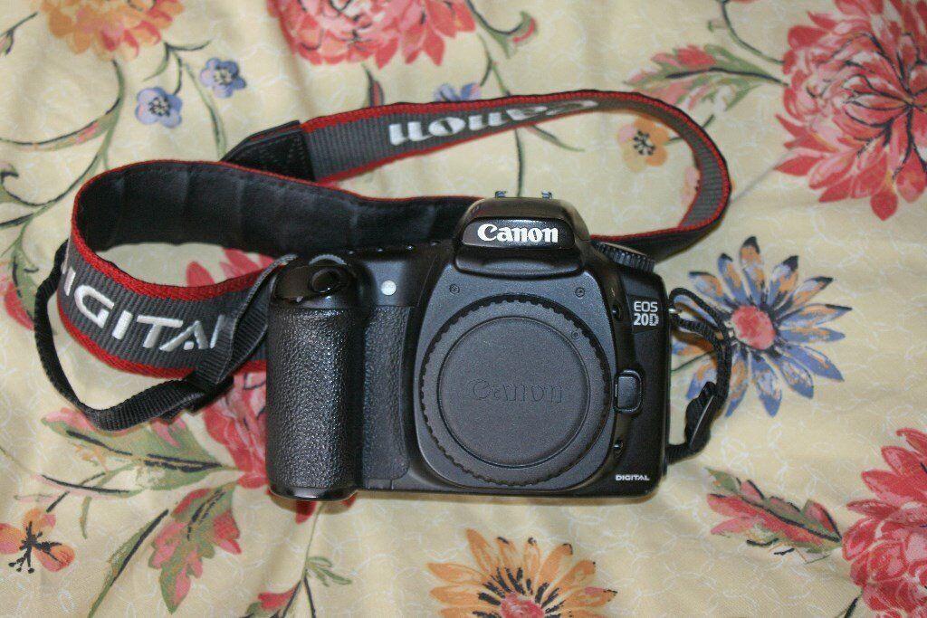 Canon 20D DSLR camera body