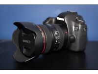 Canon 6d with 24-105mm f/4 L Lens