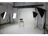 White Photography Studio Space- Venue Hire Hackney Downs Studios & WEDDING VIDEO / PHOTOGRAPHY
