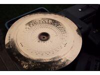 "AA Meinl Tri Tonal Billy Cobham 22"" China cymbal - W/rivets -early '90s"
