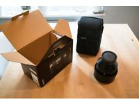 Sony FE 85mm f/1.4 lens in amazing condition, hardly used, bought in Park Cameras
