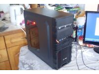 Eight Core Gaming PC AMD FX-8100 8GB RAM 500GB 2GB GPU Windows 10