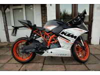 KTM RC 390 - low mileage